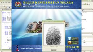 Module Fingerprint authentication